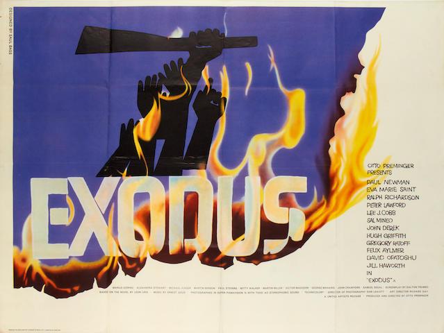 Exodus, United Artists, 1960,