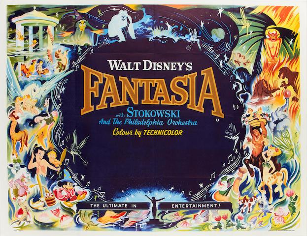 Fantasia,  Walt Disney, 1940,