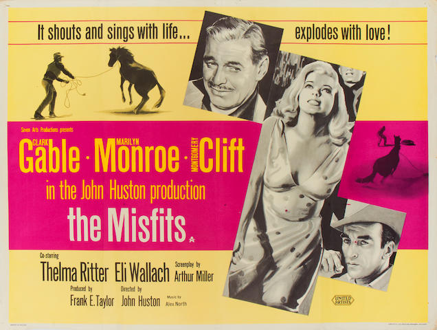 The Misfits,  United Artists, 1961,