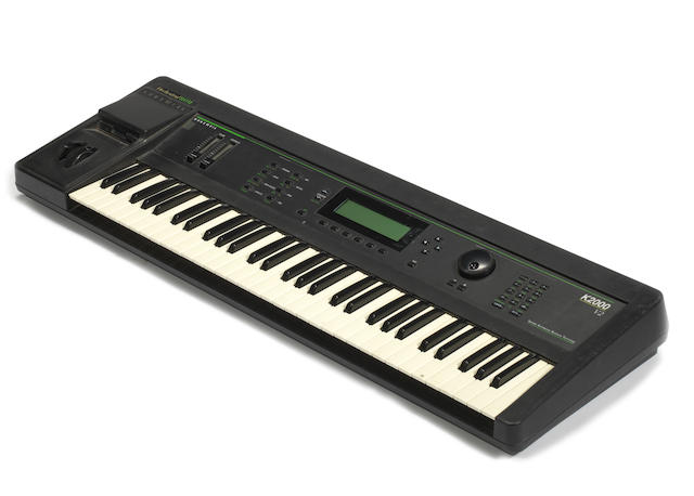 Pink Floyd: A Kurzweil K2000 V2 digital synthesizer,