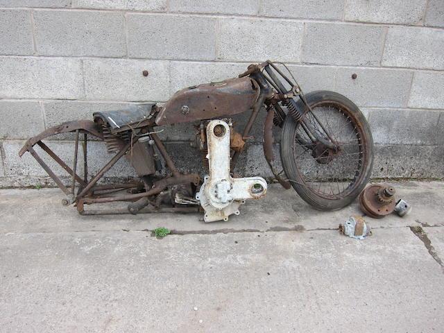 1927 AJS 349cc K7, Frame no. K46743 Engine no. K7/46743