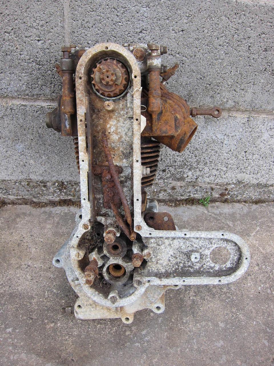 Property of a deceased's estate,1928 AJS 349cc K7  Frame no. K46743 Engine no. K7/46743