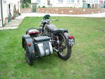 The ex-Brian Nash,,1955 ISDT 1953 Royal Enfield 700cc Meteor Trials Combination Frame no. 389 (see text) Engine no. 389
