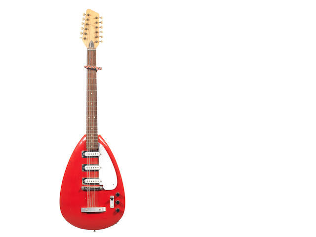 David Bowie: a twelve-string electric guitar,