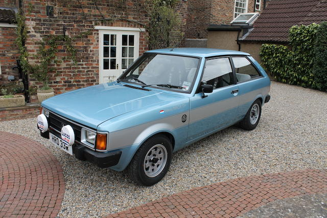 1981 Talbot Sunbeam Lotus Rally Car