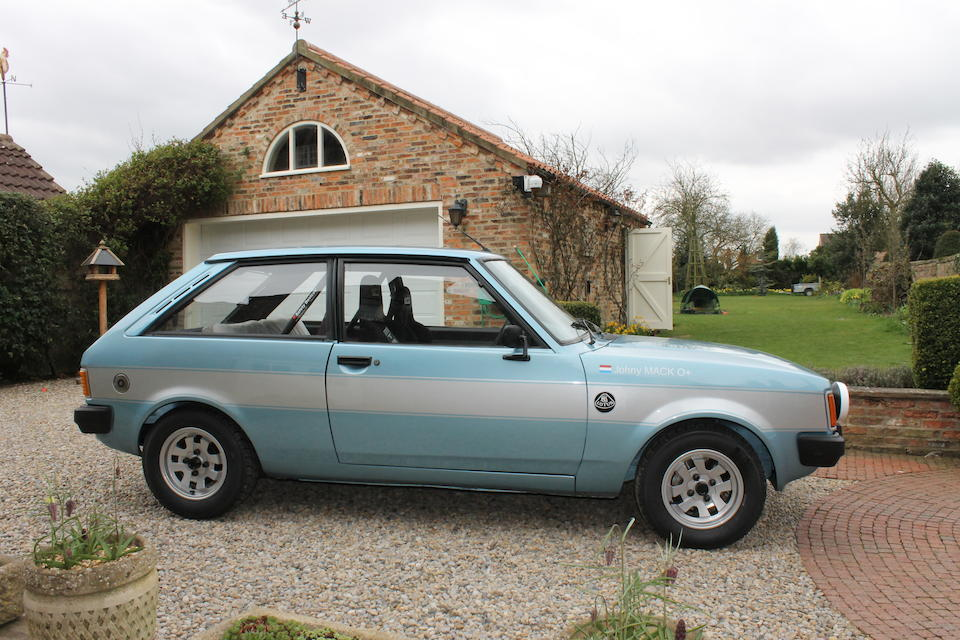 1981 Talbot Sunbeam-Lotus Rally Car, Chassis no. T4DCYAL322865 Engine no. T4DCYAL322865