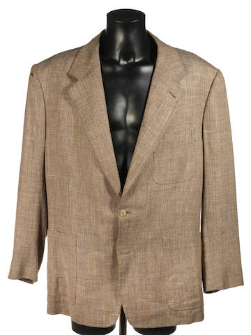 Sean Connery - The Russia House, 1990  A brown tweed jacket,