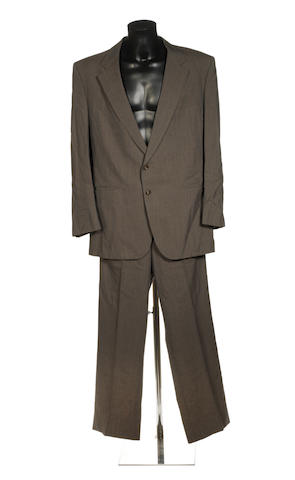 Dallas: a suit worn by Larry Hagman in his role as J. R. Ewing, 1980s,
