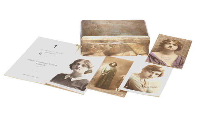 Gladys Cooper: A collection of items given to Dianh Sheridan from Glayds Cooper,