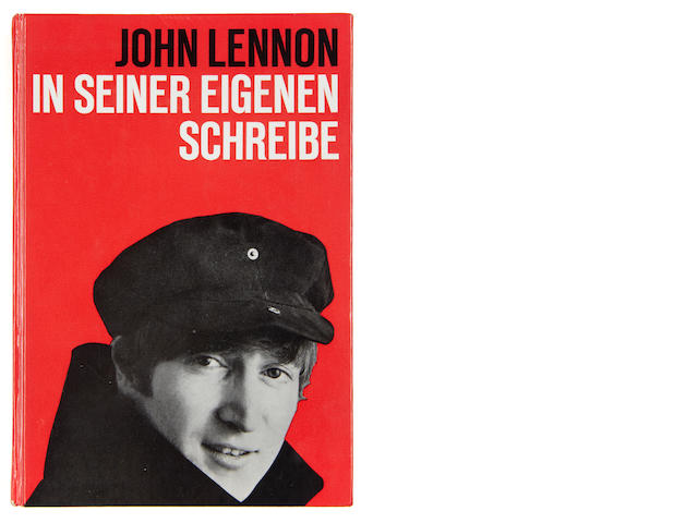 John Lennon: a rare autographed German edition of 'In His Own Write' (In Seiner Eigenen Schreibe), 1964,