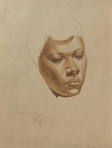 Vladimir Griegorovich Tretchikoff (South African, 1913-2006) Portrait