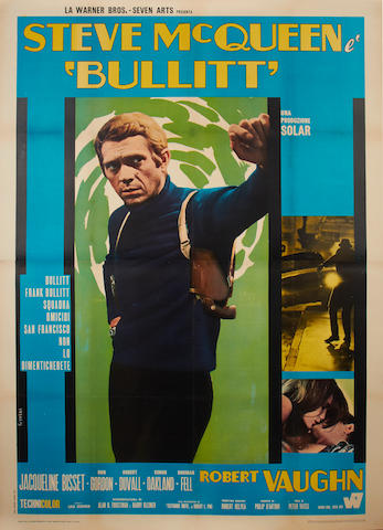 Bullitt, Solar Productions, 1968 (re-release 1970),