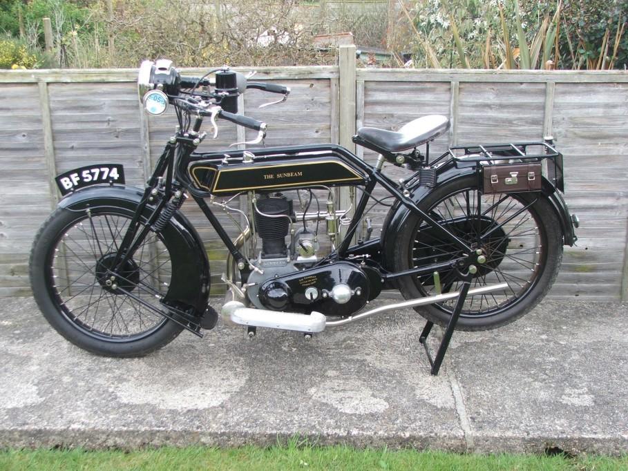 1925 Sunbeam 3½hp Model 3 Frame no. 17413 Engine no. 159/17026