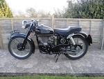 1954 Velocette 498cc MSS, Frame no. RS3931 Engine no. 10222