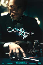 Casino Royale: A large collection of nineteen posters, including three signed by Judy Dench, Eon / United Artists, 2006, comprising: 19