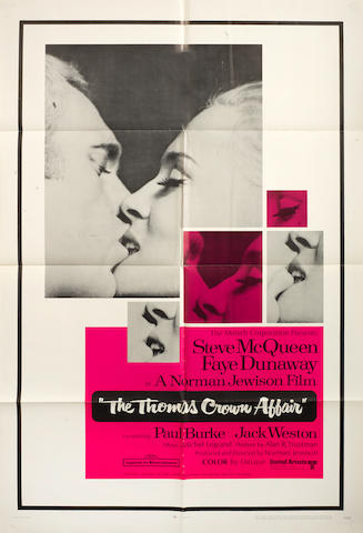 The Thomas Crown Affair,  United Artists, 1968,2