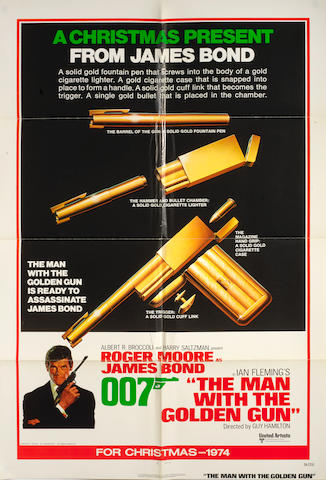 James Bond: The Man With The Golden Gun, United Artists, 1974,