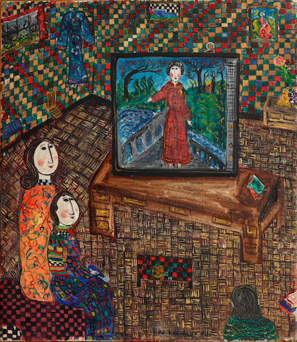 Dora Holzhandler (British, born 1928) The television