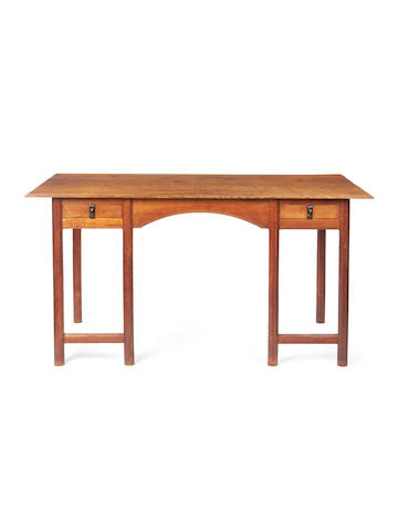 Gordon Russell (1892-1980) An Early Oak Writing Desk, 1925