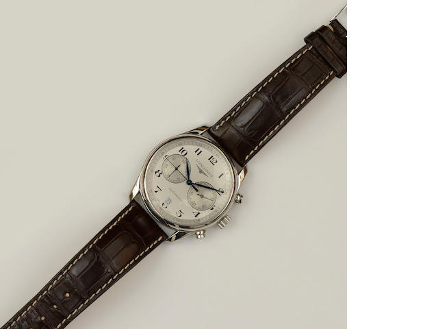 Longines: A gentleman's automatic chronograph wristwatch
