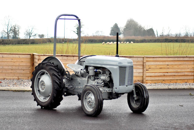 1953 Ferguson TED20 Tractor, Chassis no. TED 177774