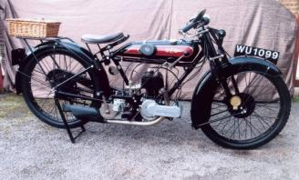 1928 OEC-Blackburne 548cc, Frame no. OB5 1157 Engine no. FF1807