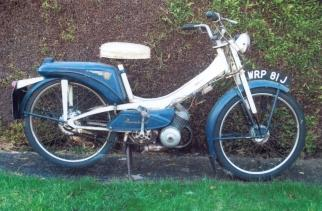 1970 raleigh Moped