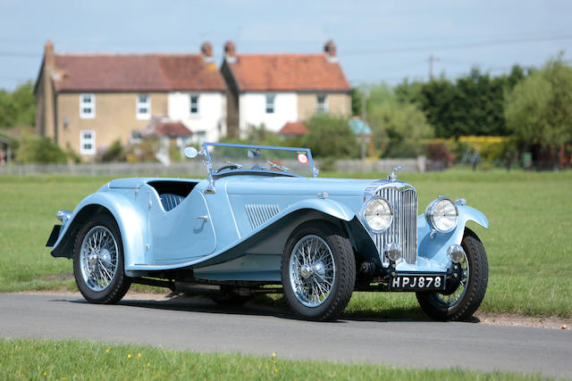 Believed one of three remaining, in single family ownership since 1963,1939 AC 16/90hp Supercharged Tourer  Chassis no. L662 Engine no. UBS7.613