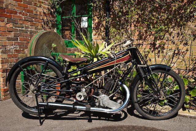 Ex-Eric Langton,1925 Cotton-Blackburne 348cc Engine no. CK2432