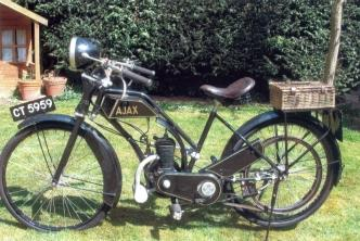 1923 Ajax 'Lady's Model' 147 cc, Frame no. 1132 Engine no. 6058