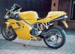 2000 Ducati 996 Biposto, Frame no. ZDMH200AAXB006807 Engine no. ZDM996 W4 009772