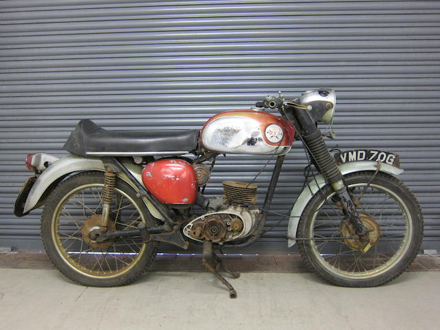 c.1968 BSA 172cc Bantam Engine no. 53448