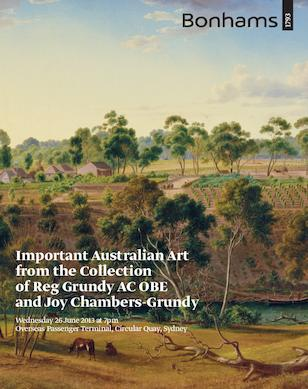 Important Australian Art from the Collection of Reg Grundy AC OBE and Joy Chambers-Grundy