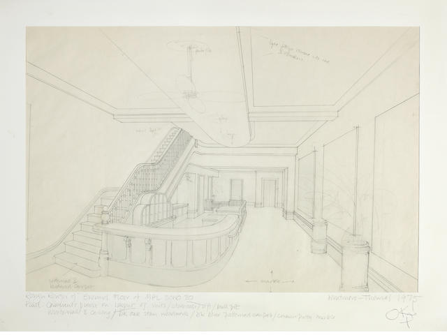 Paul McCartney: Two original MPL Soho Square office related designs, 1975,
