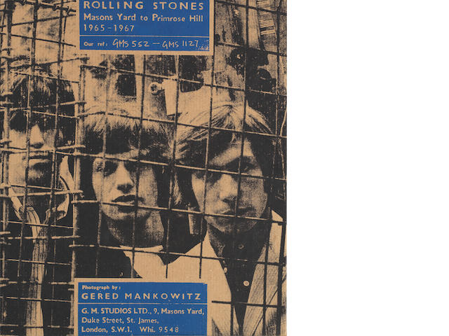 The Rolling Stones: 'Masons Yard To Primrose Hill 1965-1967',