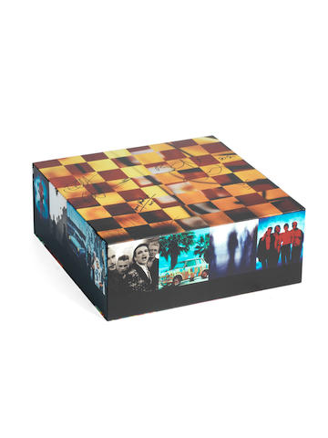 U2: An autographed 'Achtung Baby' 20th Anniversary Box Set,