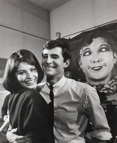Loomis Dean (American, 1917-2005): Sophia Loren and Anthony Perkins,