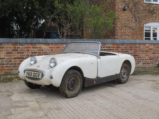 1960 Austin-Healey Sprite MkI Roadster, Chassis no. AN5HCG32468 Engine no. 32183
