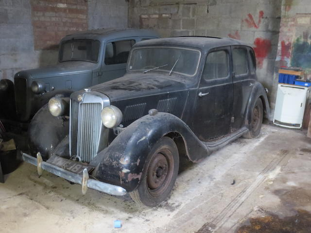 1953 MG YA Saloon