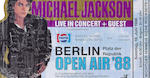 Michael Jackson: An autograph and concert ticket,