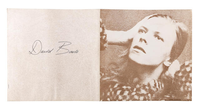David Bowie: a group of press packs, tour information and related items, early 1970s,