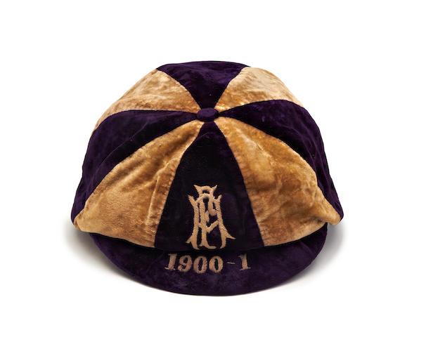 1900-01 England trial cap