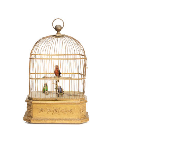 Mick Jagger: a singing birds automaton,  French, late 19th century,