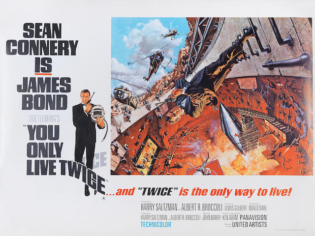 You Only Live Twice,  Eon/ United Artists, 1967,