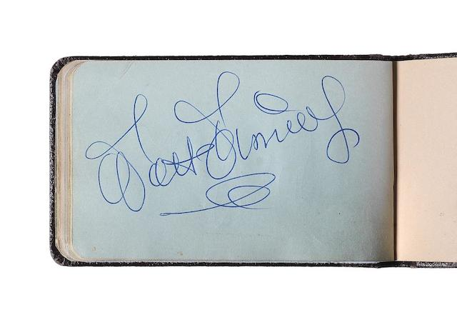 Entertainment and Film Star signatures: A collection of film star signatures,