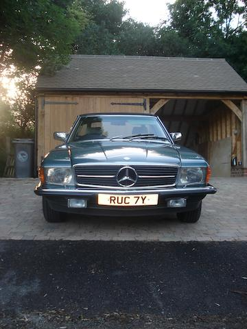 1983 Mercedes-Benz 280SL Convertible, Chassis no. 1070422216841