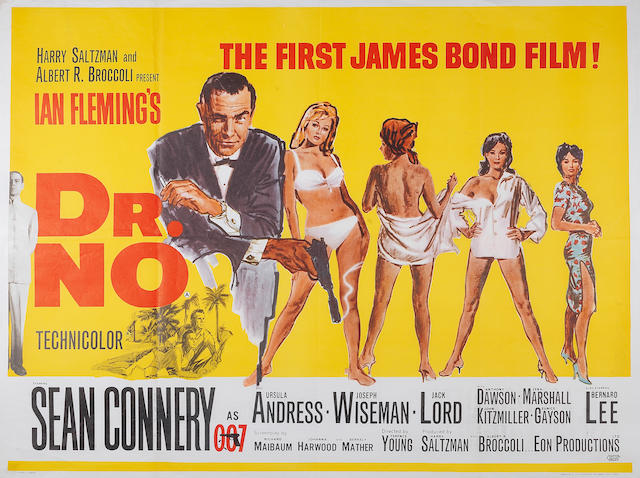 Dr. No, Eon/ United Artists, 1962,