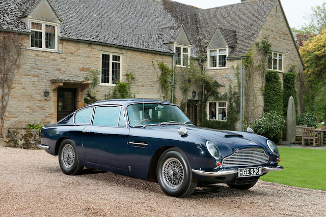 In current ownership since 1972,1966 Aston Martin DB6 Sports Saloon  Chassis no. DB6/2607/R Engine no. 400/2615