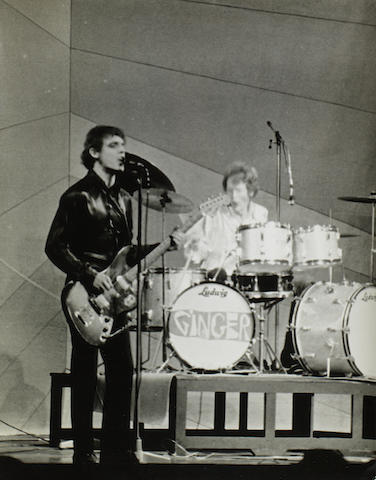 Cream: A collection of vintage prints of Cream performing on stage in London, 1966,