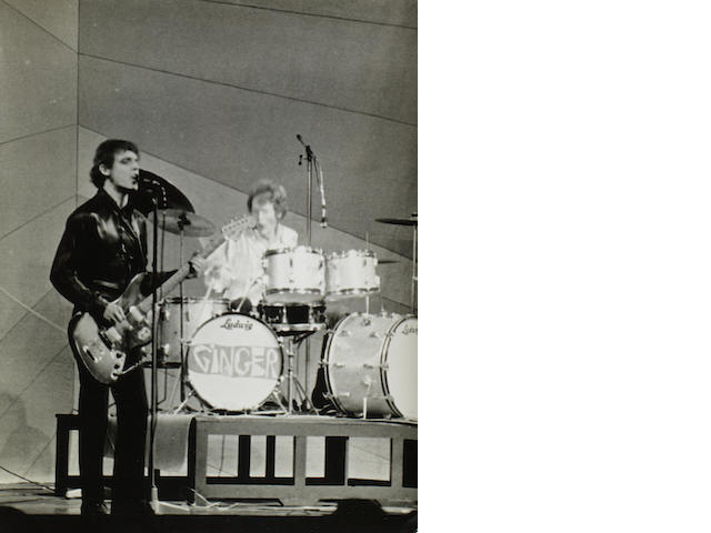 Cream: A collection of vintage prints of Cream performing on stage, 1966,